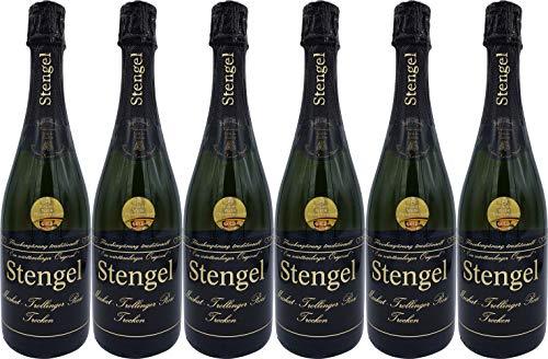 Sekt- und Weinmanufaktur Stengel Muskat-Trollinger Rosé Sekt Trocken (6 x 0.75 l)