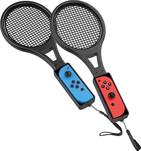 Venom paquete gemelo de la conexión del regulador de la raqueta de tenis para Joy-Con (Nintendo Switch)