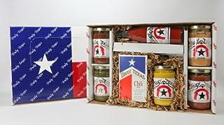 Whole Lotta Texas Salsa, Queso, Chili, Hot Sauce Gift Box - Truly Texas
