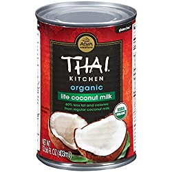 Thai Kitchen Organic Gluten Free Lite Coconut Milk, 13.66 fl oz