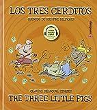 Los Tres cerditos/ The Three Little Pigs: 10 (Cuentos de siempre bilingües)