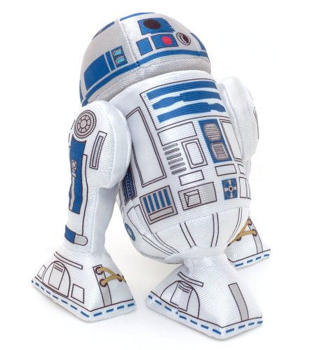 Disney Store R2-D2 Peluche Mini Originale Star Wars Guerre Stellari Astrodroide Droide Robot R2D2 17cm