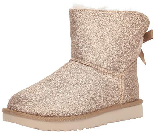 UGG Australia Damen Stiefeletten Mini Bailey Bow Sparkle Gold 1100053 Gold 538478