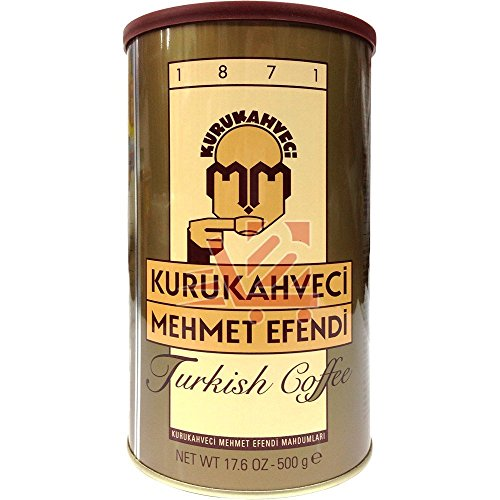 Kurukahveci Mehmet Efendi Turkish Coffee 3 Pack (3 x 500g)