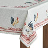 Maison d' Hermine Campagne 100% Cotton Tablecloth 60 - inch by 108 - inch.