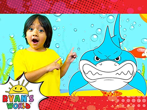 Ryan's Undersea Shark Adventure!