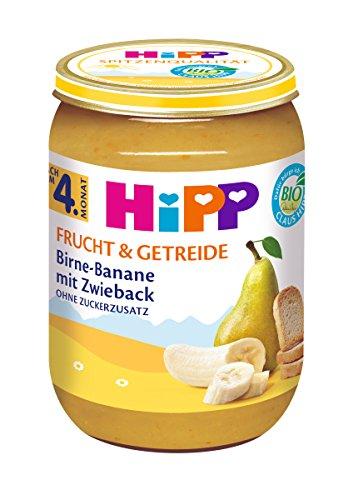 HiPP Birne-Banane mit Zwieback, 6er Pack (6 x 190 g)