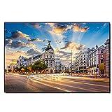 HNBLSHM Spanien Golden Cordoba Poster Bild Gran Via