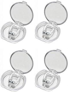 comprar comparacion LIUMY Dispositivos Anti Ronquidos,4 PCS Dispositivos Antirronquidos Magnético Clip anti ronquidos soluciones,Dilatador nas...