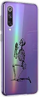 Oihxse beschermhoes voor Motorola Moto G7 Plus, ultradun, transparant, zachte TPU-gel, siliconen, schattig motief, schokbe...