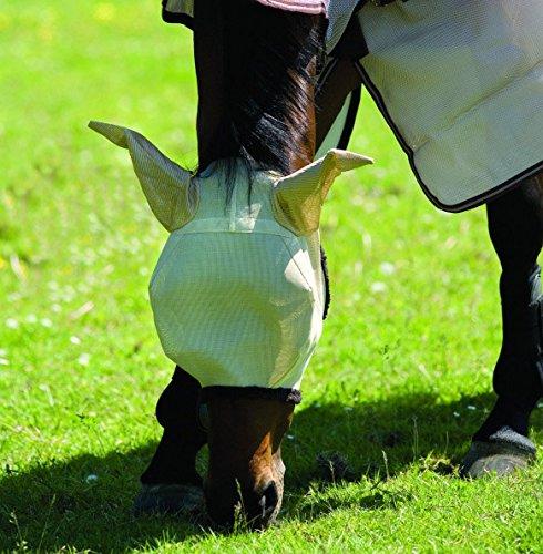 Amigo Fliegenmaske – Langlebig Komfort Fleece UV-Schutz atmungsaktiv Pferd Pony Equine
