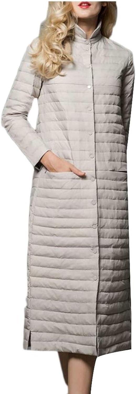 Desolateness Women's Long Down Jack Packable Puffer Jacket Coat Outwear