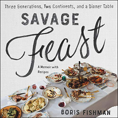 Savage Feast audiobook cover art