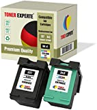 Pack de 2 XL TONER EXPERTE® Cartuchos de Tinta compatibles con HP 337 343 C9364EE C8766EE para HP Photosmart 2500 2570 2573 2575 C4100 C4110 C4140 C4150 C4180 D5160 Deskjet D4160 5940 (Negro, Color)