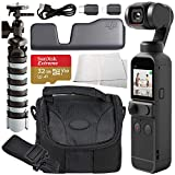 DJI Pocket 2 Handheld Gimbal Stabilizer with Integrated Camera & Starter Accessory Bundle - Includes: Memory Card, Carrying Case & More