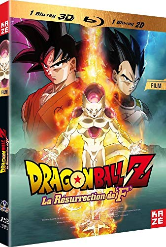 Dragon Ball Z : La Résurrection de « F » -Le Film [Combo 3D + Blu-Ray 2D]