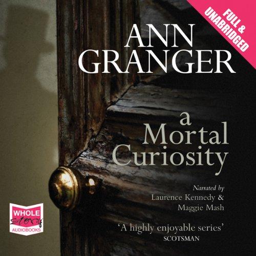 A Mortal Curiosity audiobook cover art
