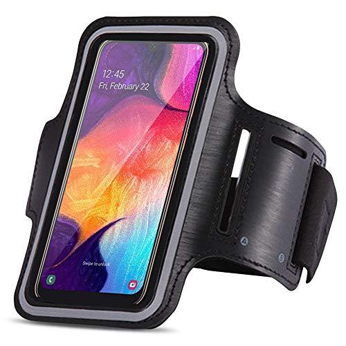 UC-Express sportarmband compatibel met Samsung Galaxy A20e jogging mobiele telefoon tas sport hoes fitness tas loopcase