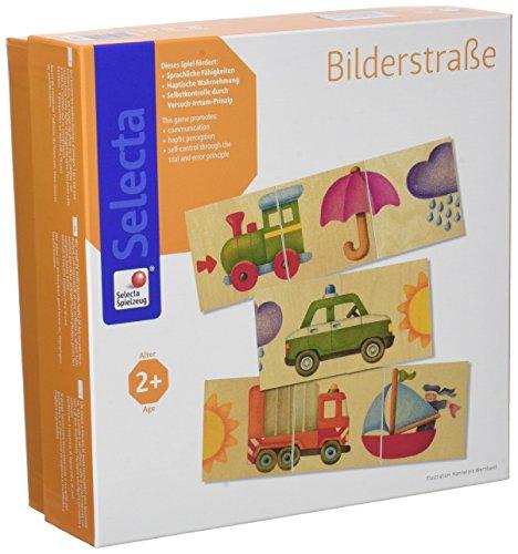 Selecta 62055 Bilderstraße, Legespiel, 6 cm