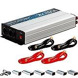 VOLTRONIC® MODIFIZIERTER Sinus Spannungswandler 2000W mit E-Kennzeichen, 12V auf 230V, Stromwandler Inverter Wechselrichter Auto PKW