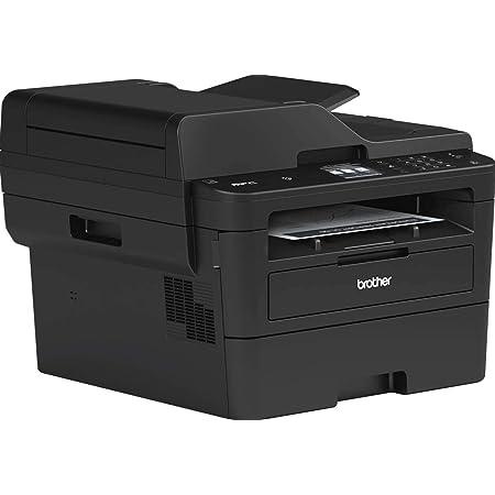 Brother - Impresora en B/N a Doble Cara y tamaño A4 Negro Multifonction 4 en 1