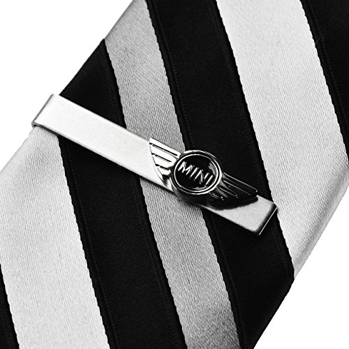 Quality Handcrafts Guaranteed Mini Pince à Cravate Cooper, Pinces à Cravate, Accessoires pour Homme, Accessoires d'usure Formelle, boîte Cadeau Incluse