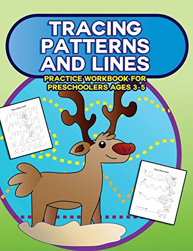 Tracing Patterns and Lines Practice Workbook for Preschoolers Ages 3-5: Trace Lines, Curves, Patterns, Zig Zags and Color with this Fun Tracing Coloring Book for Toddlers: 2