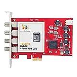 TBS6909 DVB-S2 サテライト 8 チューナー 8 Tuner PCIe カード