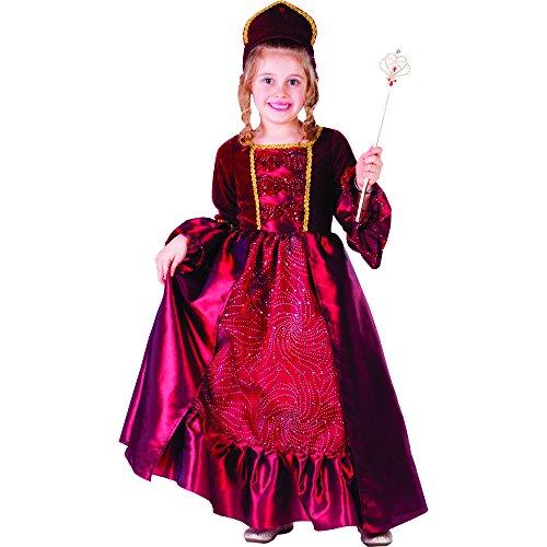 Dress Up America Burgunder Belle Ballkleid für kleine Mädchen