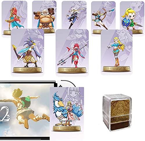 Amiibo-Karten der Zelda-Serie, 25-teilige NFC-Karte mit Zwei Links. Kompatible Wii U Switch-Spiele Skyward Sword HD, Breathe of The Wild. (Small Card)