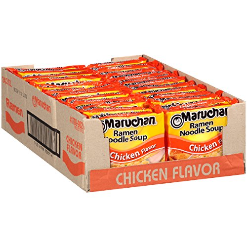 Maruchan Ramen Noodle Soup Chicken Pack Of 24
