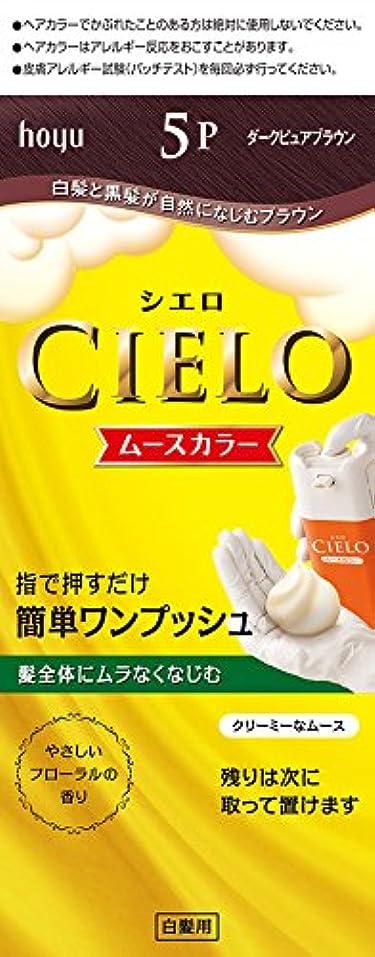 生きるコーナーアイドルホーユー シエロ ムースカラー 5P (ダークピュアブラウン) 1剤50g+2剤50g