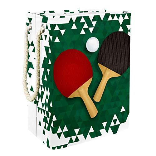 Haminaya Ping Pong Cesto De Ropa Plegable para El Hogar Simple 49x30x40.5 cm