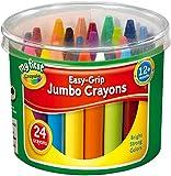 CRAYOLA My First Cubo de 24 Ceras de Colores