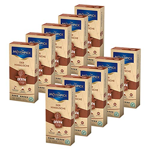 MÖVENPICK DER HIMMLISCHE LUNGO Kaffeekapseln 10 x 10 Kapseln Sparset