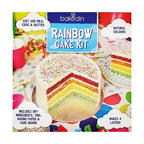 Bakedin Rainbow Cake Kit - 970g