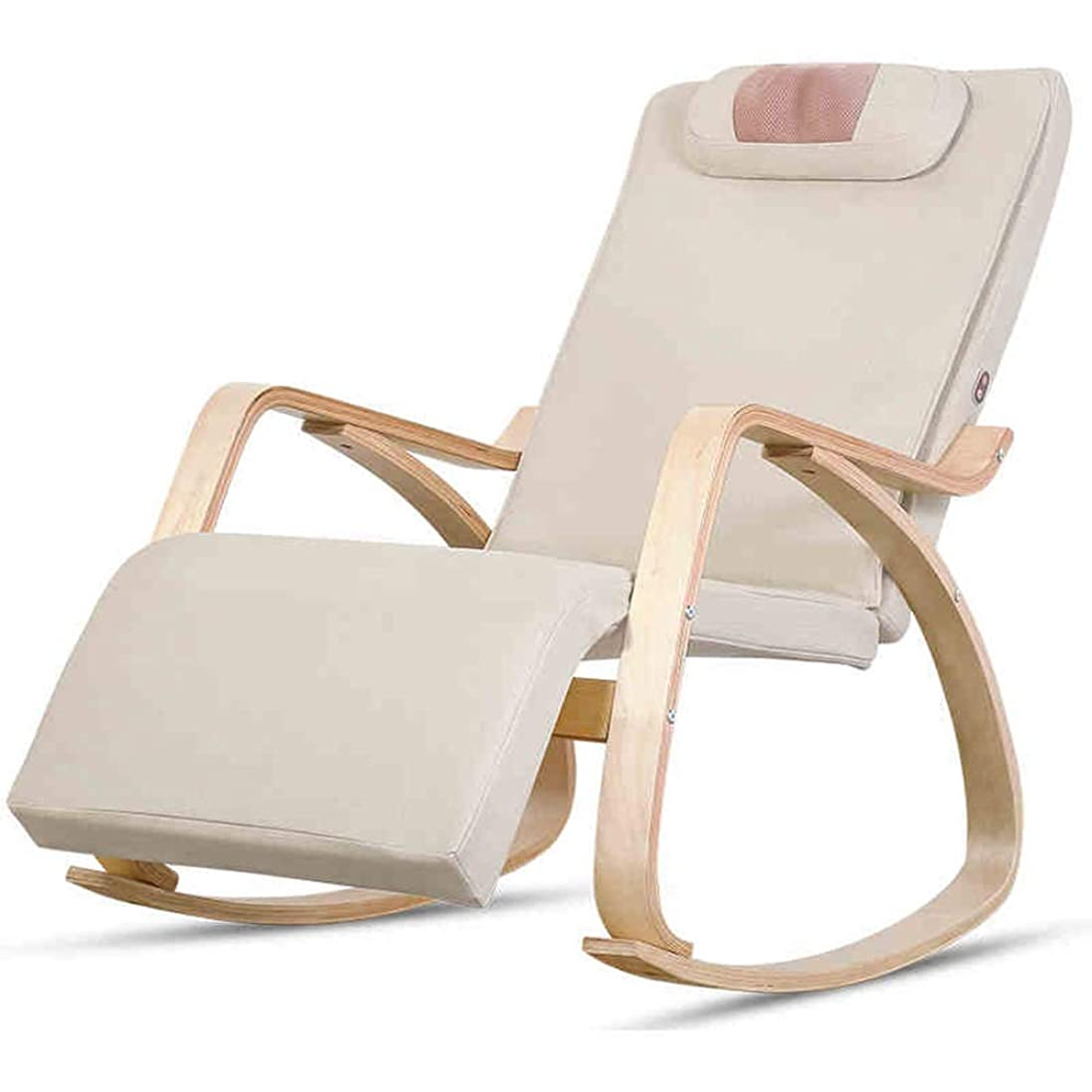 憲法規定フローティングJIAYUAN マッサージクッション 鎮痛のための熱機能のマッサージの椅子、携帯用背部マッサージの椅子にマッサージの暖房、振動、大きい調節可能な首及び肩筋肉混練のマッサージャーがあります