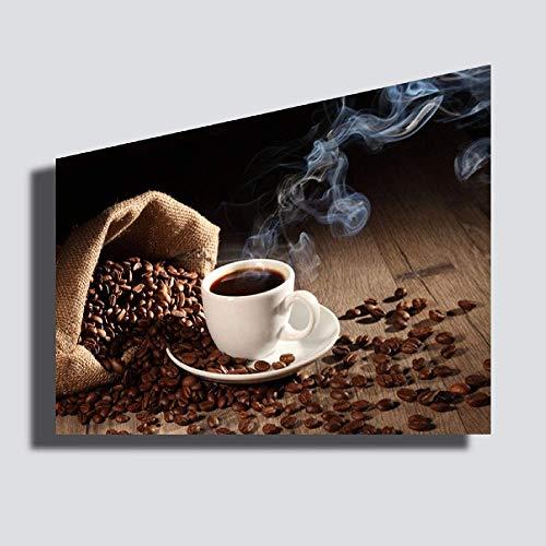 Quadro moderno XXL CAFFE' 30x50 cm caffè ristorante bar caffetteria STAMPA SU TELA Quadri Moderno Arredamento arredo Cucina Soggiorno Camera da letto