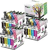 Kingjet Compatible Brother LC223 Cartuchos de Tinta para Brother MFC-J5625DW DCP-J4120DW MFC-J5320DW MFC-J4420DW MFC-J4620DW MFC-J480DW DCP-J562DW MFC-J5620DW MFC-J5720DW MFC-J680DW 12 Pack