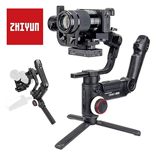 Zhiyun Crane 3 Lab estabilizador de Mano de 3 Ejes para cámara DSLR sin Espejo, con transmisión de Imagen inalámbrica y Control de Zoom y Enfoque ViaTouch