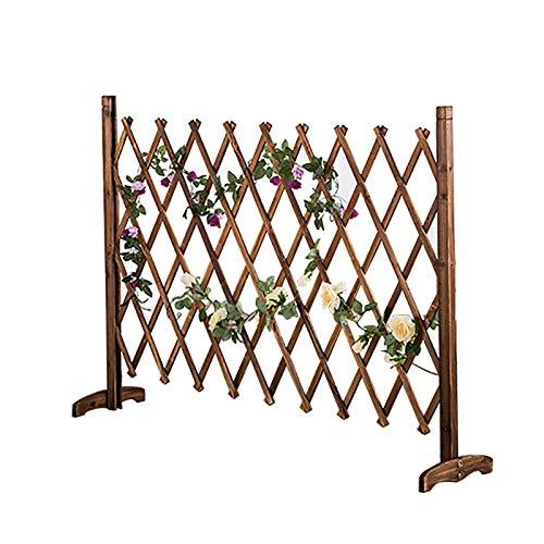 Expandierender Zaun, verdicken Holzgitter for Weihnachtsbaumzaun, verwendet for den indoor dekorativen Zaun/Hundezaun/Kletterpflanzen (Size : 70cmcm)