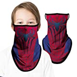 Kids Face Mask with Ear Loops, Neck Gaiter Face Covering Bandana Boys Girls Youth Sports Hiking