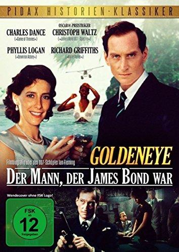 Goldeneye - Der Mann, der James Bond war / Spannende, starbesetzte Filmbiografie mit Charles Dance und Christoph Waltz über den 007-Schöpfer Ian Fleming (Pidax Historien-Klassiker)