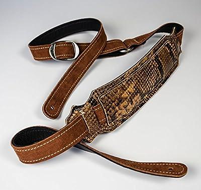 Vintage Snakeskin Guitar Strap