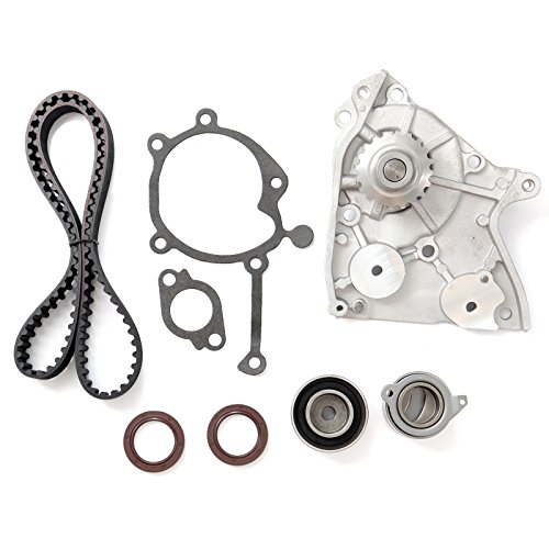 Timing Belt Water Pump Tensioner Kit, ECCPP for 1987-1993 Ford Probe Mazda 626 B2200 MX-6 12V 2.2L SOHC Eng Code F2G F2L F2-T