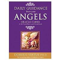 WGRB タロットカードオラクルガイダンスLenormandオラクルカード占い運命のタロットデッキボードゲームファミリーパーティカードゲームを遊びます (Color : Daily guidance angel)