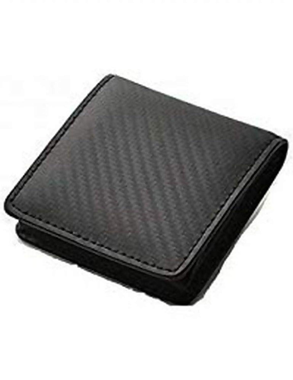 ビームズスクエア カーボンレザー メンズ コインケース BZSQ-25010 ブラック 財布?小物 財布 小銭入れ mirai1-519525-ah [並行輸入品] [簡素パッケージ品]