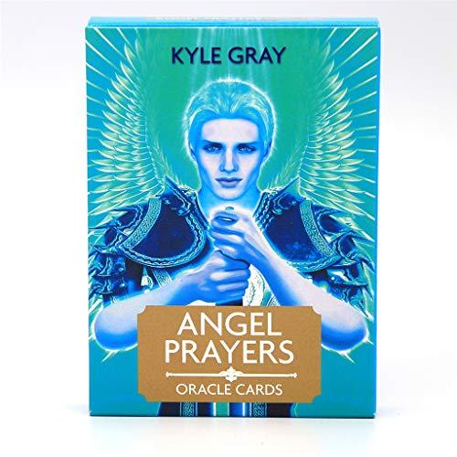 Dalin Angel Prayers Oracle Full English Tarot-Karten, Deck, geheimnisvolles Wahrsagungsspiel