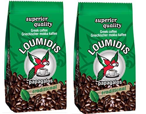 Loumidis griechischer Mokka Kaffee (2x 194 g) , griechischer Kaffee, Mocha Greece