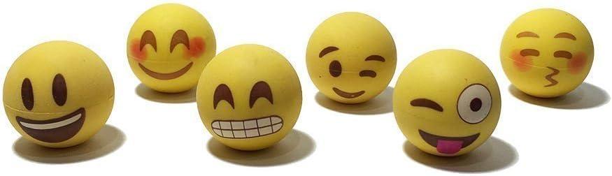 Award I EM Popular JI Pencil Top Erasers Kids Fun - for Emoji